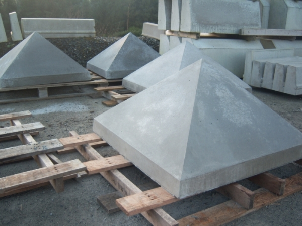 Precast Concrete Pillartops Hasson Concrete Derry
